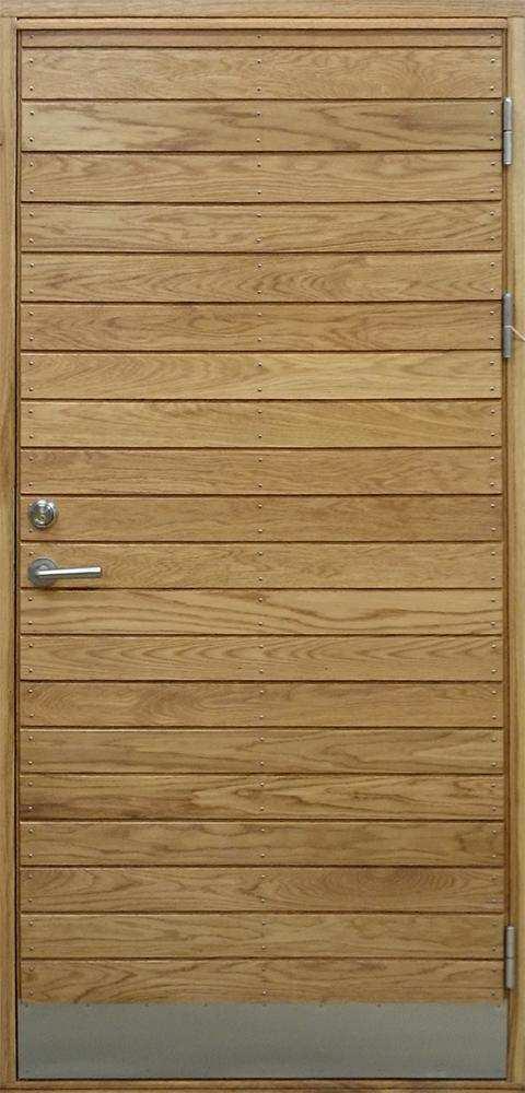 Ytterdörrar | Långö Ek | Bovalls Dörrbyggeri